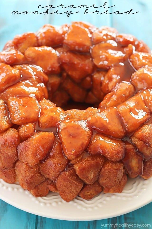 caramel monkey bread recipe