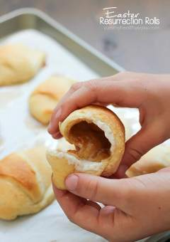 Easter Resurrection Rolls {Disappearing Marshmallow Rolls} - Yummy ...