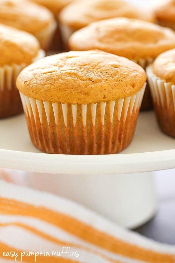 Easy Pumpkin Muffins {Yummy Healthy Easy}
