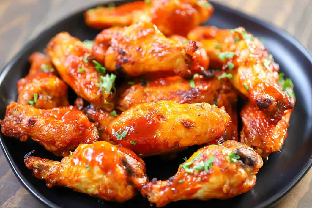 Air Fryer Chicken Wings Recipe - Yummy Healthy Easy
