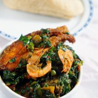 Efo Riro Vegetable Soup (Nigerian Spinach Stew)