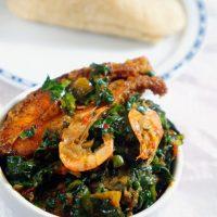 Efo Riro Vegetable Soup (Nigerian Spinach Stew)