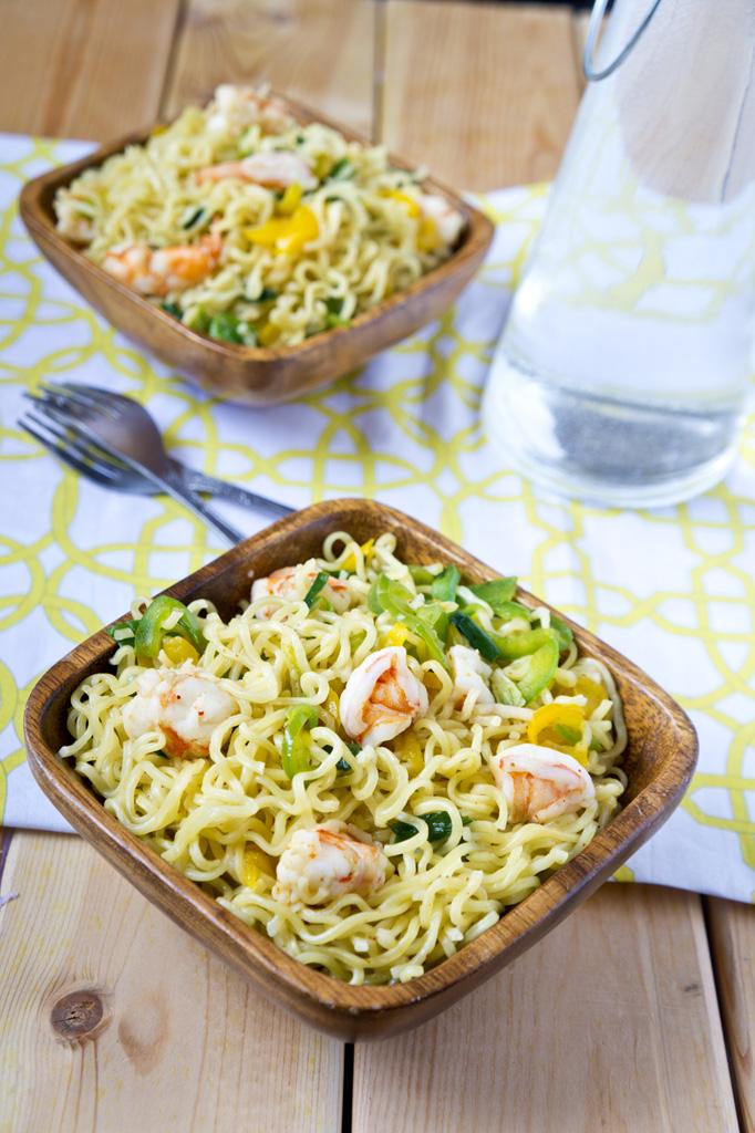 Eat Ramen Noodles Like An African