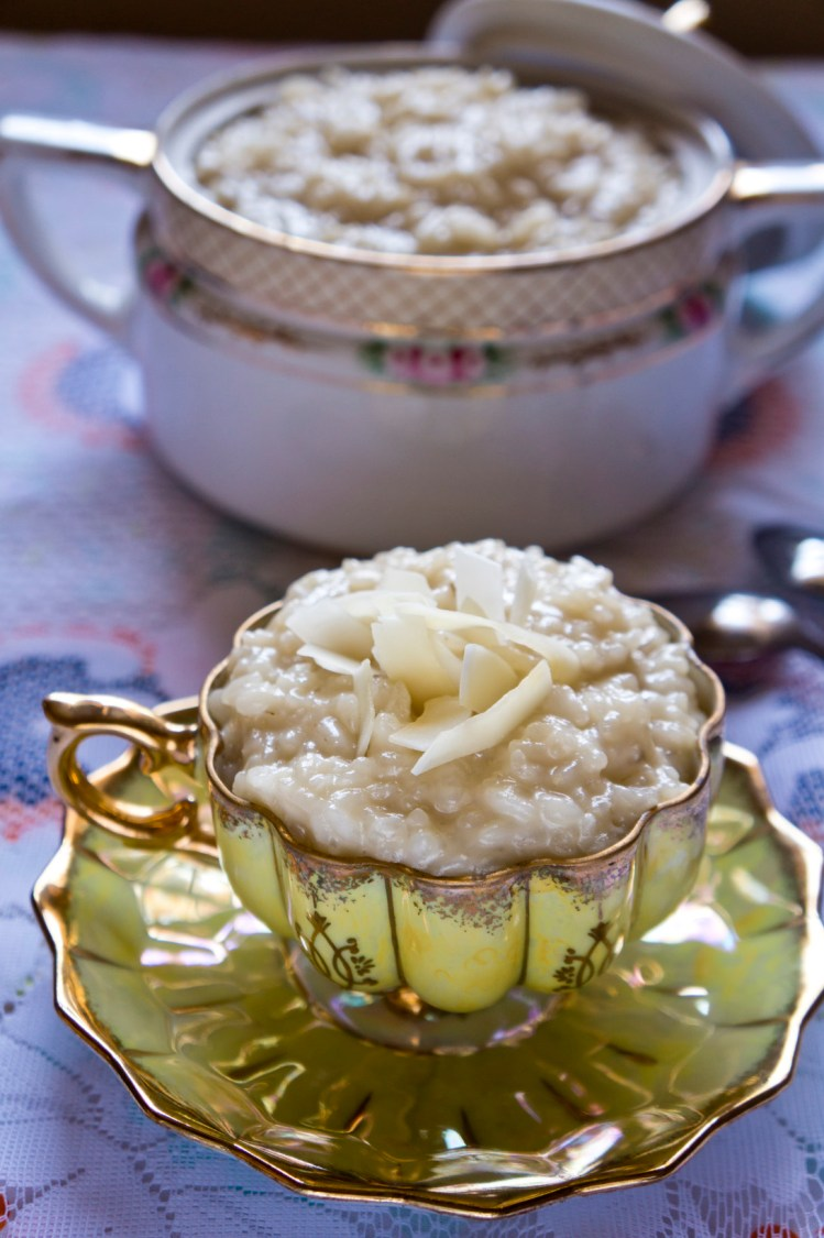 Sombi: Senegalese Coconut Rice Pudding