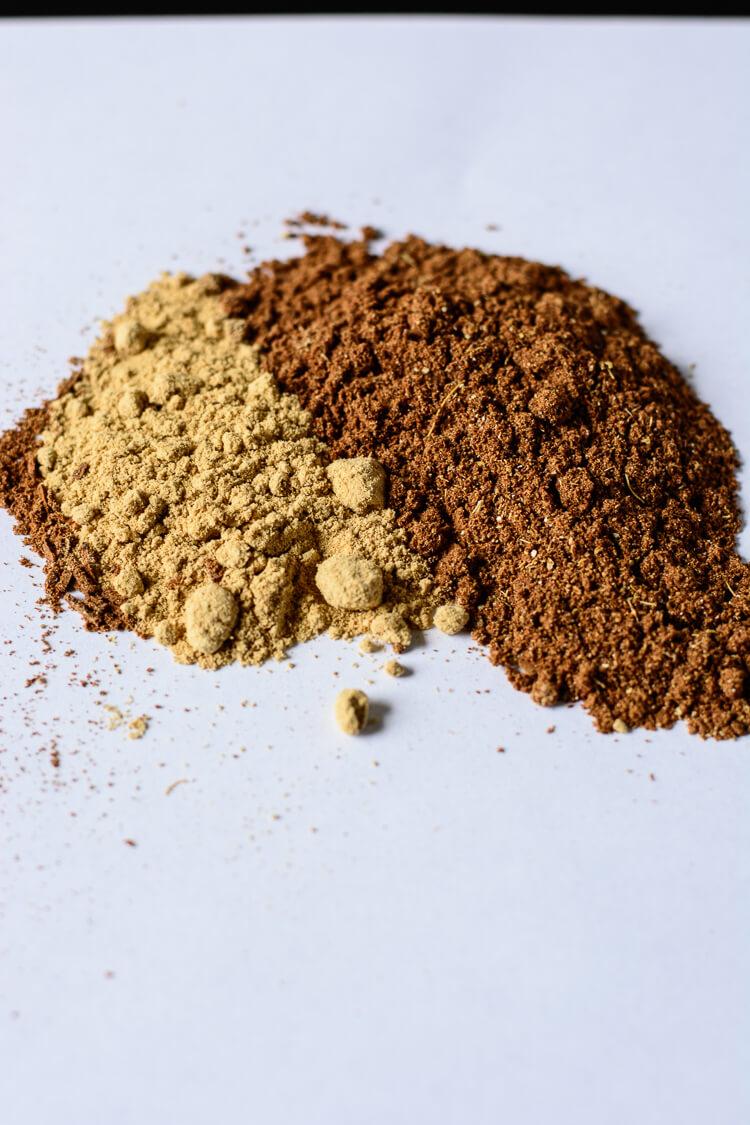 Sweet Ras El Hanout: Moroccan Spice ReMix for Desserts - partial mix