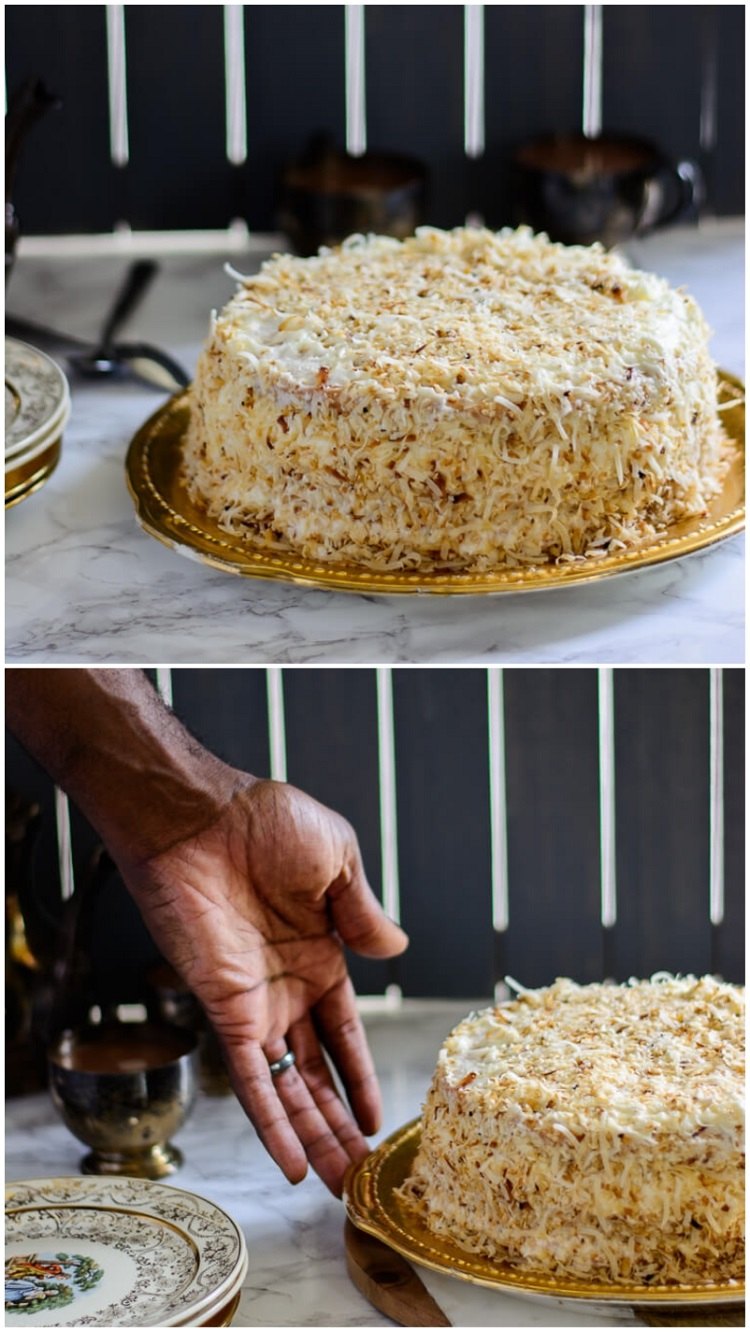 Coconut Caramel Cake: Moist and Delicious! - delicious and ready
