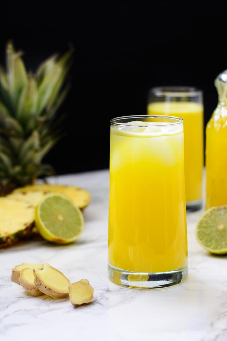 Jamaican Pineapple Ginger Drink Recipe