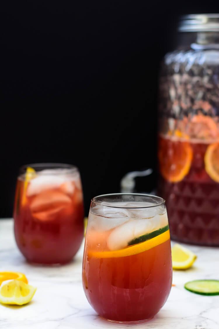 Nigeria's Favorite Mocktail: Chapman Drink - distant shot