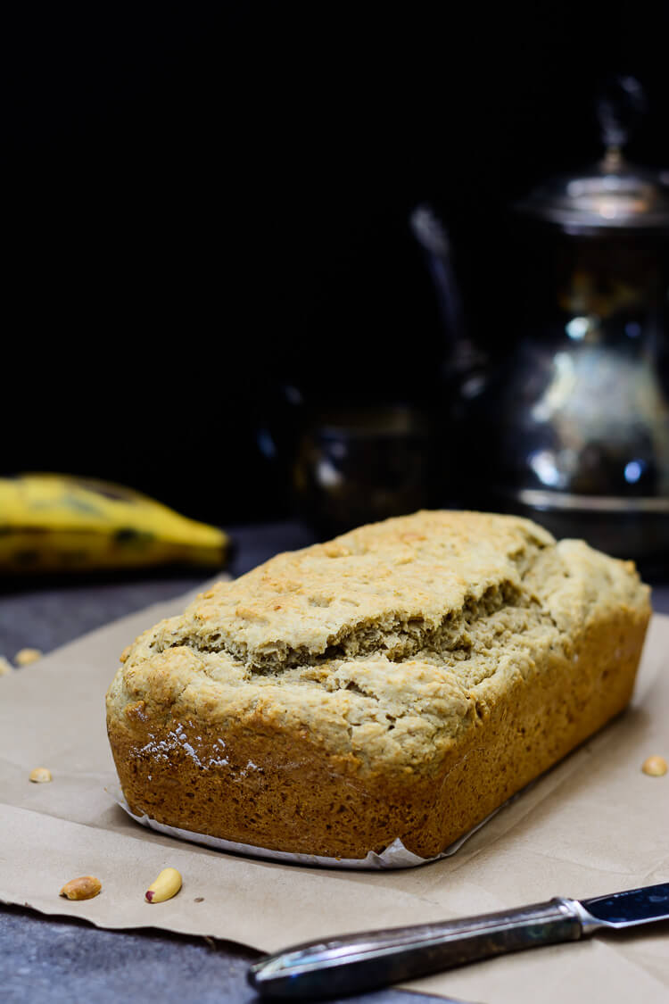 Easy and Mouthwatering Vegan Plantain Bread - Fresh from the oven!