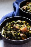 Nigerian Afang soup, eaten by Efik and Ibibio people of Nigeria is a delicious stew made with Afang leaves and a leafy vegetable locally called waterleaf.