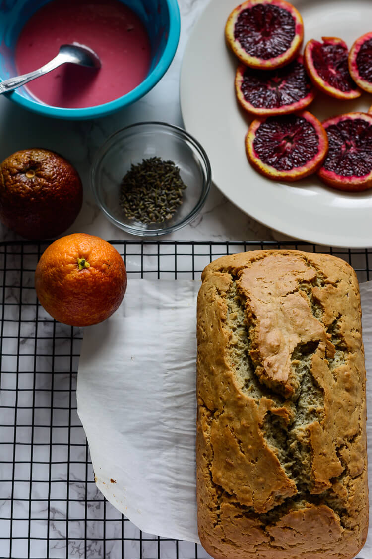 Vegan Orange Pound Cake Recipe