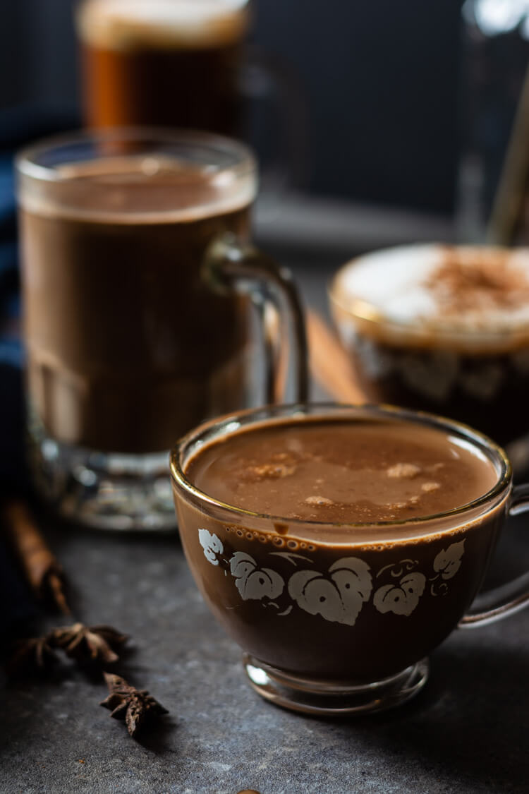 Haitian Hot Chocolate: A soothing cup!