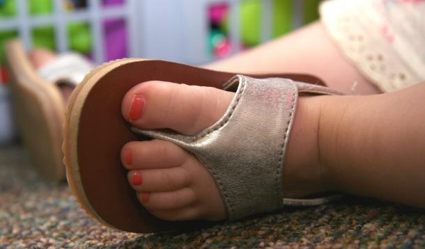 No Pedicures for These Tiny Toes  YummyMummyClubca