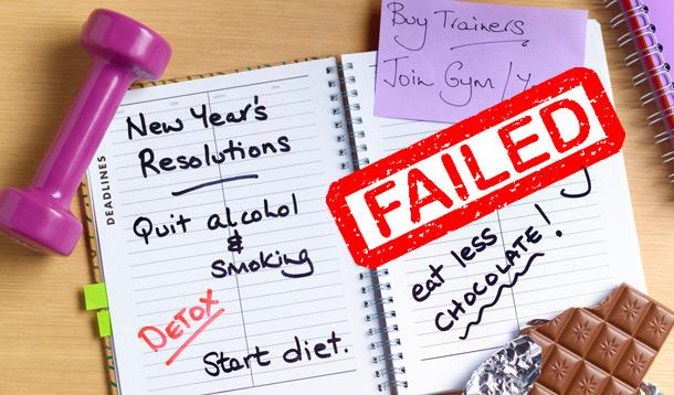 Image result for new years resolutions failed