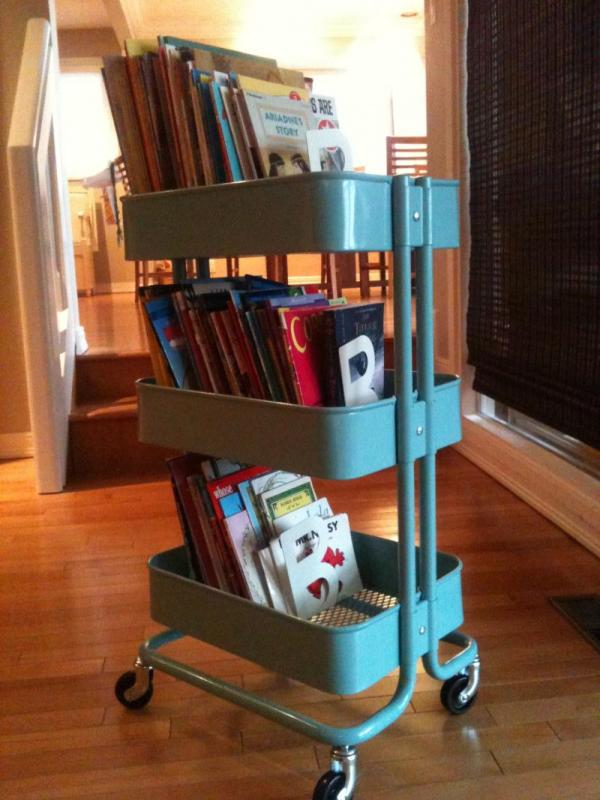5 Unexpected Storage Solutions Kids' Books