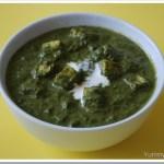 Palak/Spinach Paneer