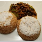 Bread Puttu and Kadala Curry