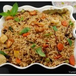Hara Bhara Biriyani (Vegetable Biriyani)