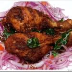 Nadan Kozhikal Fry / Chicken Drumstick Fry / Kozhi Porichathu