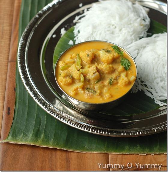 Cauliflower kurma