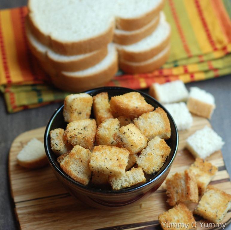 homemade sourdough garlic butter croutons recipes mdash dishmaps