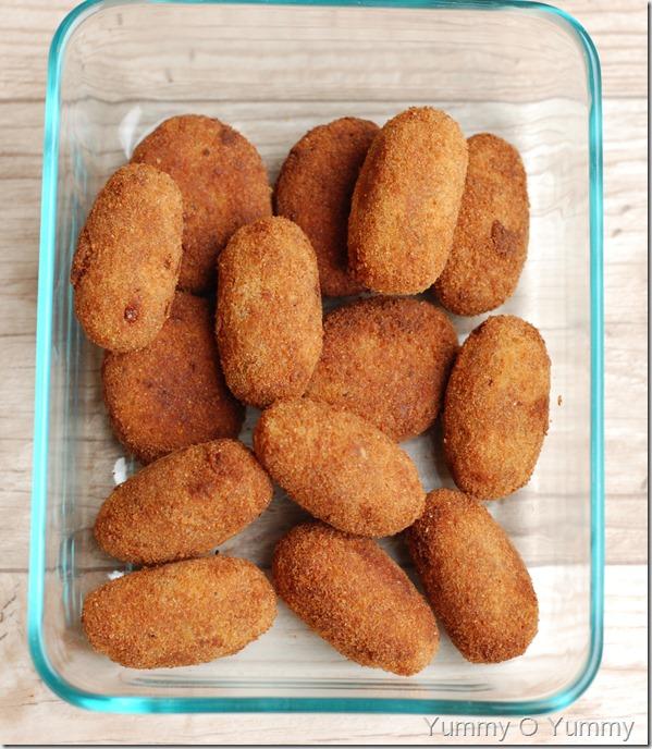 Tapioca fish cutlets