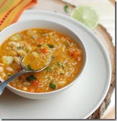Quinoa and veggie soup1