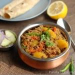 Keema Aloo (Minced Meat with Potatoes)