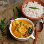 Chemmeen Muringakka Curry / Prawn and Drumstick Curry
