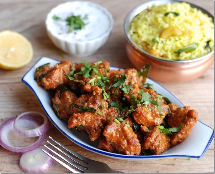 Hyderabadi Chicken 65