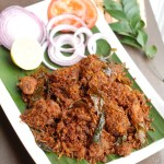 Chicken Coconut Ularthiyathu / Chicken Coconut Roast With Video