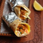 Spicy Chicken, Egg and Vegetable Rolls