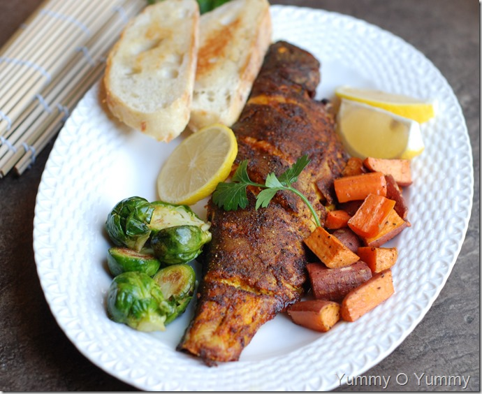 baked trout1