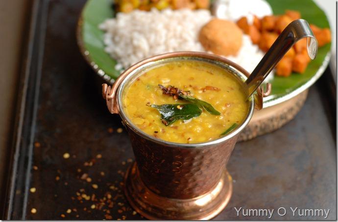 Thrissur style parippu kuthikachiyathu