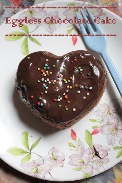 Eggless Chocolate Cake Recipe Yummy Tummy