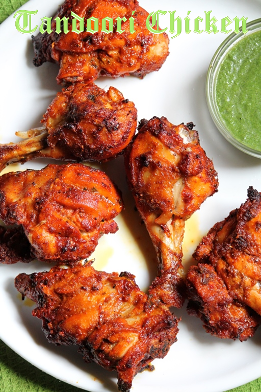 Tandoori Chicken Recipe Yummy Tummy