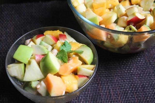 Healthy Fruit Salad Recipe Yummy Tummy
