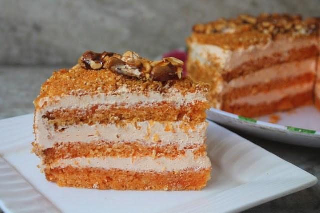 Butterscotch Cake Recipe Butterscotch Fresh Cream Cake Recipe To Welcome 2017 Yummy Tummy