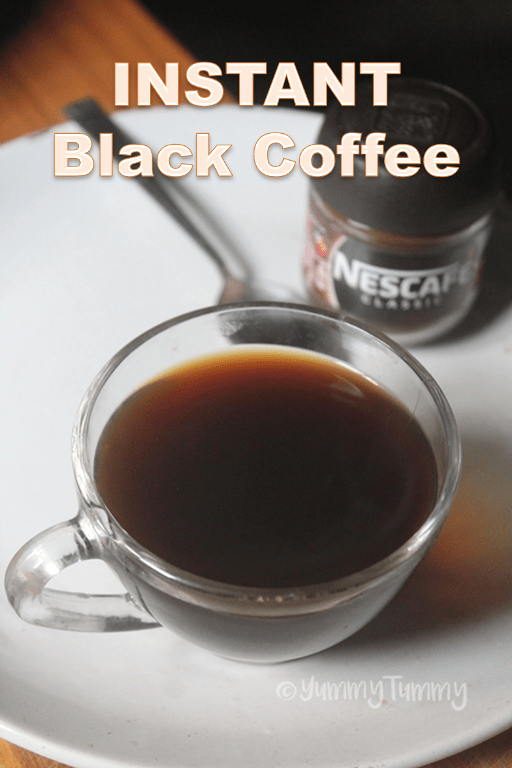 black coffee recipe for weight loss