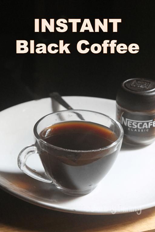 Instant Black Coffee Recipe - How to Make Black Coffee