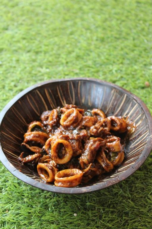 Squid Masala Recipe
