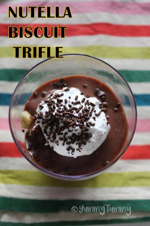 Nutella Biscuit Trifle
