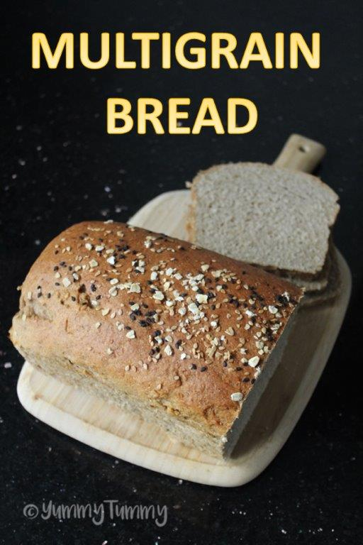 Multigrain Sandwich Bread Recipe