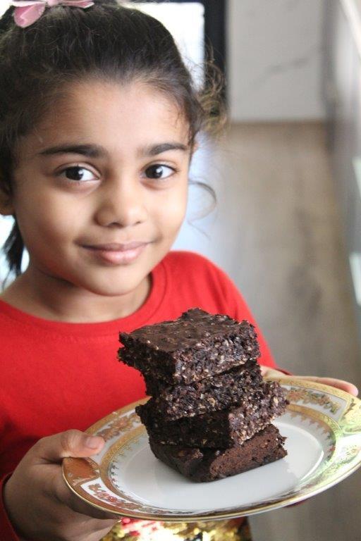 Lactation brownies