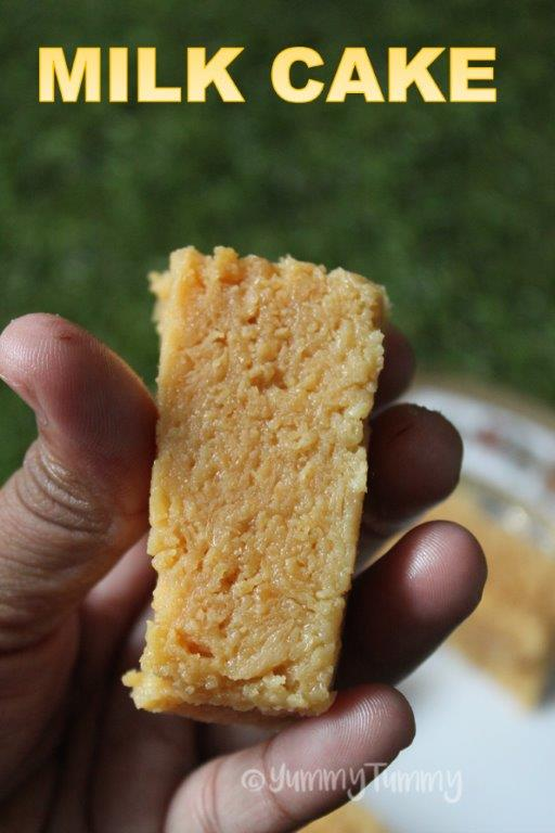 How To Make Milk Cake Sweet Indian Recipe