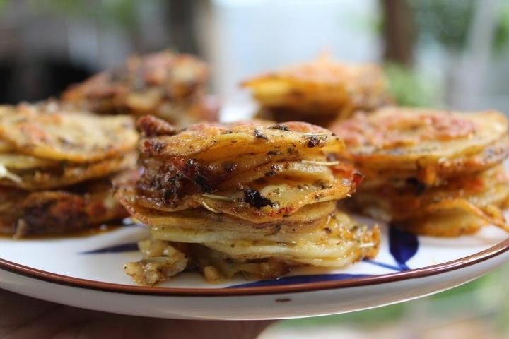 Baked Potato Stacks