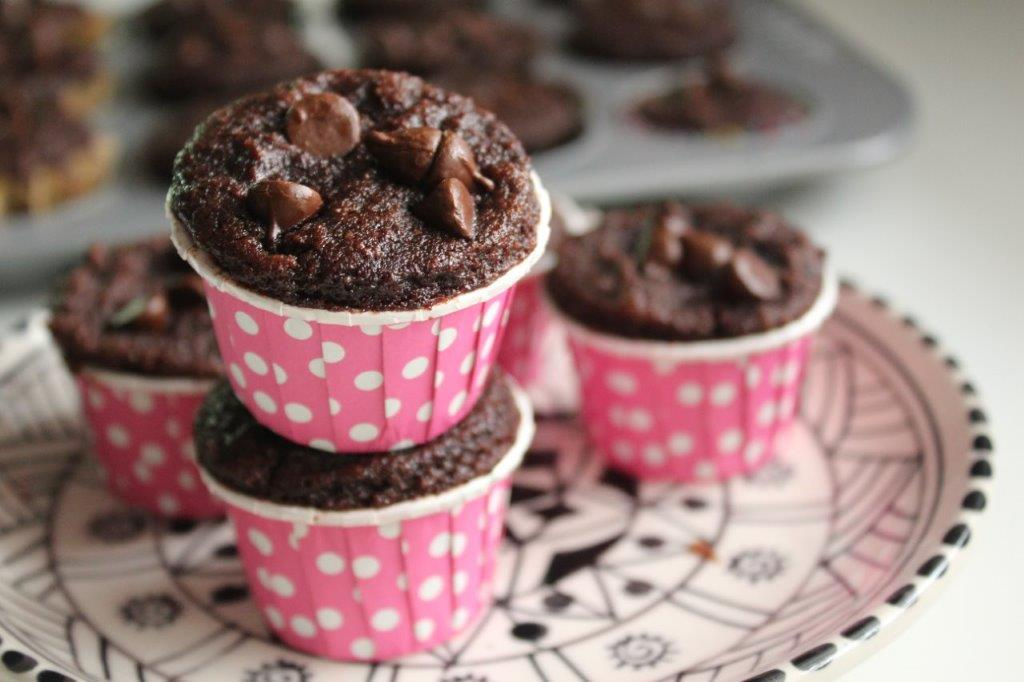 Chocolate Chip Muffins - coconut flour