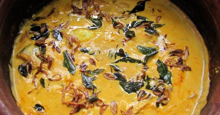 Kerala Fish Curry with Coconut Milk and Mango