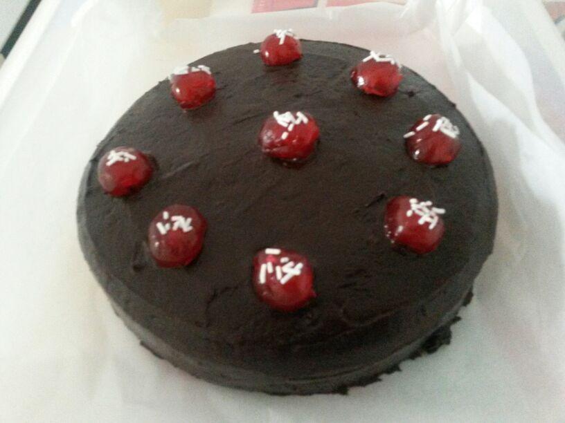 Eggless Chocolate Tofu Cake