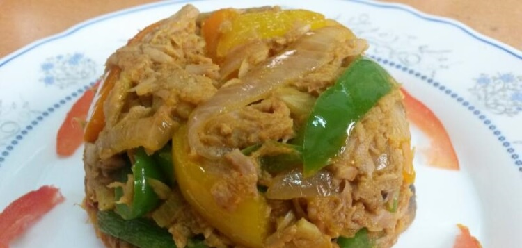 Tuna with Vegetables